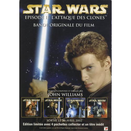STAR WARS - Episode II: L'attaque Des Clones - Poster / Display