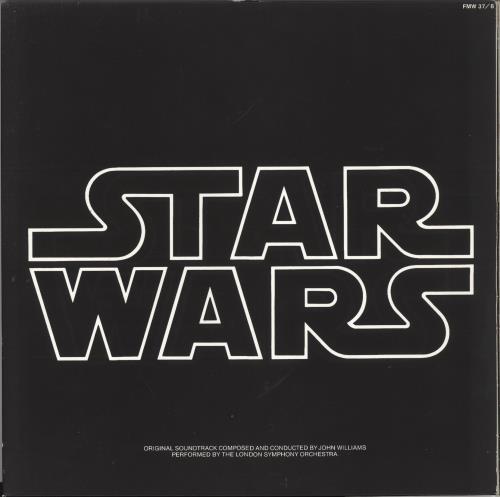 STAR WARS - Star Wars - Gold Vinyl - Maxi 33T