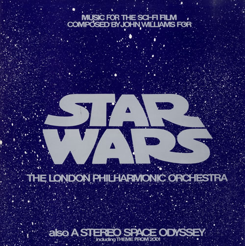STAR WARS - Star Wars / Stereo Space Odyssey - Maxi 33T