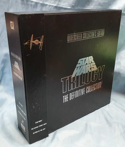 STAR WARS - Star Was Trilogy - The Definitive Collection - DVD