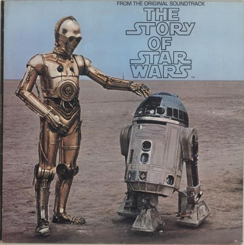 STAR WARS - The Story Of Star Wars - Maxi 33T