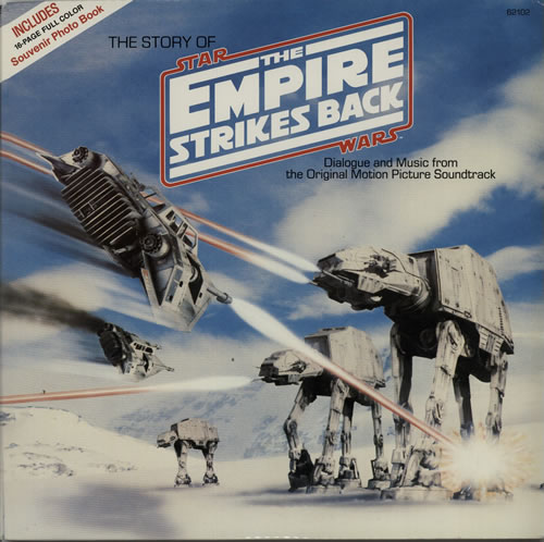 STAR WARS - The Story Of The Empire Strikes Back - 12 inch 33 rpm