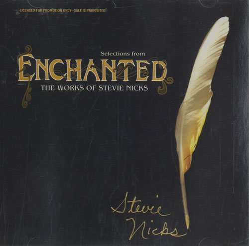 Stevie Nicks Selections From Enchanted Usa Promo Cd Album