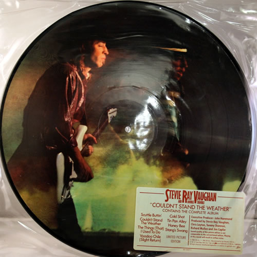 Stevie Ray Vaughan Couldn T Stand The Weather Usa Lp