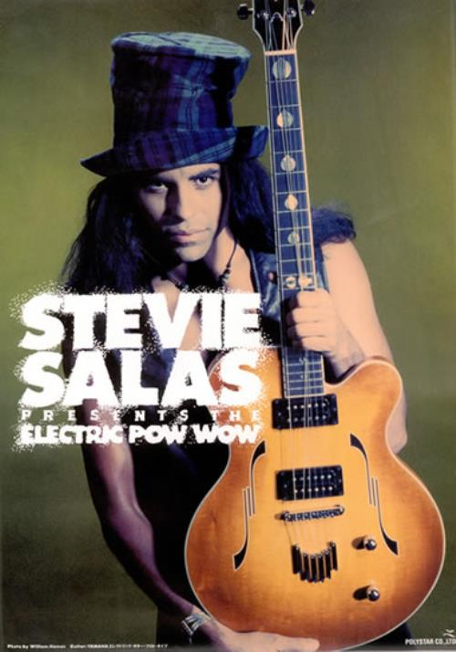 SALAS, STEVIE - Presents The Electric Pow-Wow - Poster / Affiche
