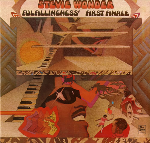 Stevie Wonder Fulfillingness First Finale Vinyl Records