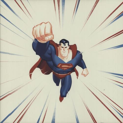 SUPERMAN - Superman: The Animated Series - Kryptonite Green - 7inch x 1