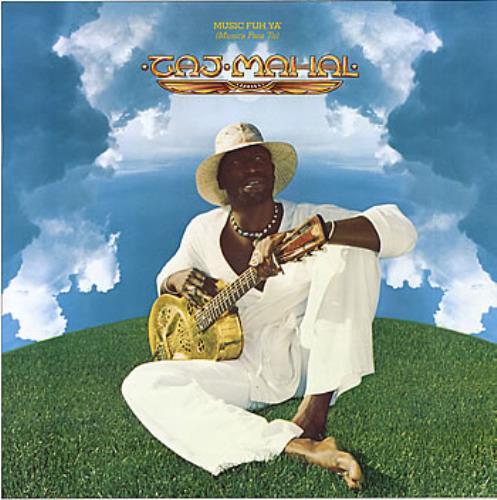 Taj Mahal Music Fuh Ya German Vinyl Lp Record Wb 56324