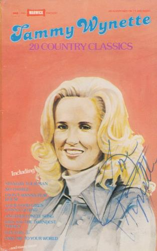 WYNETTE, TAMMY - 20 Country Classics - Autographed - Others
