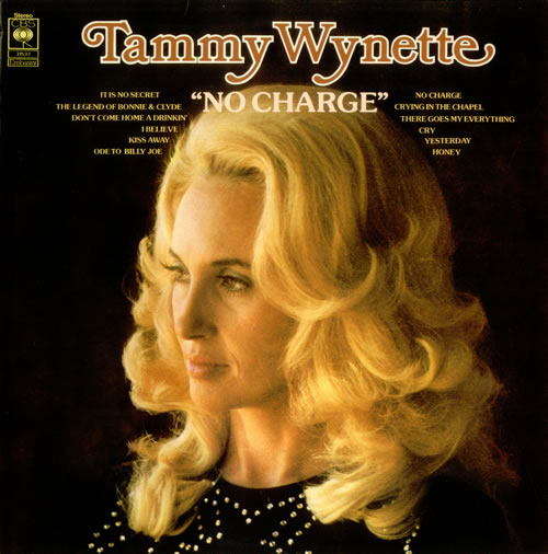 Tammy Wynette No Charge Uk Vinyl Lp Record 31532 No Charge