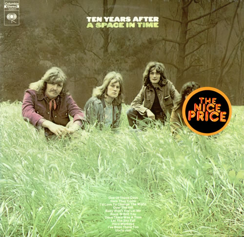 Ten Years After A Space In Time Usa Vinyl Lp Record 30801