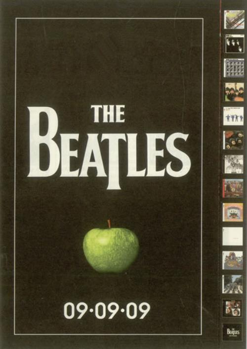 BEATLES, THE - 09.09.09 - Remasters - Poster / Display