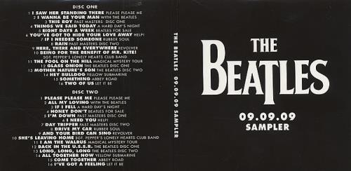 Beatles, The 09.09.09 Sampler - Sealed