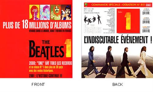 BEATLES, THE - 1 - 2001: L'Histoire Continue!!! - Poster / Display