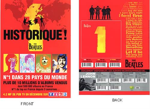 BEATLES, THE - 1 - Historique! - Poster / Display