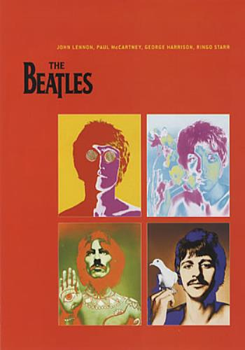 BEATLES, THE - 1 - One promo booklet - Poster / Display