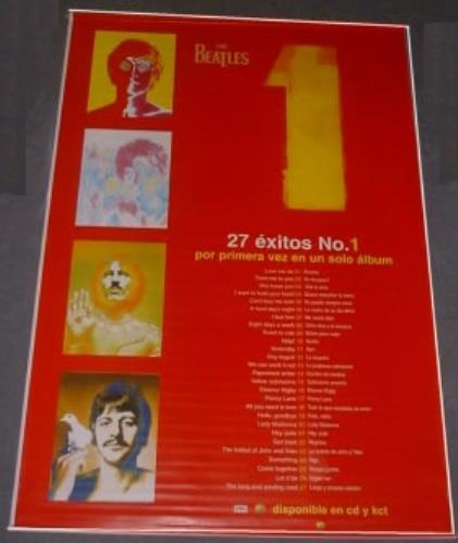 BEATLES, THE - 1 - One - Promotional Banner - Poster / Affiche