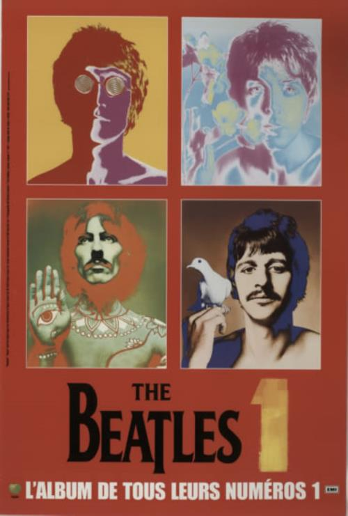 BEATLES, THE - 1 (One) - Poster / Affiche