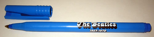 BEATLES, THE - 1967-1970 Blue - Promotional Superball Pen - Others