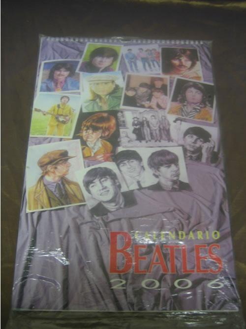 BEATLES, THE - 2006 Calendario - Calendar