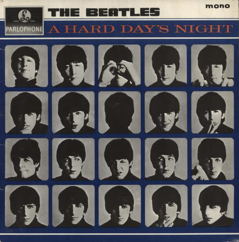 BEATLES, THE - A Hard Day's Night - 1st - EJD - VG - 12 inch 33 rpm