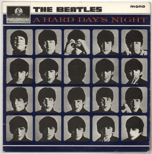 Beatles, The A Hard Day's Night - 1st - Stickered Label