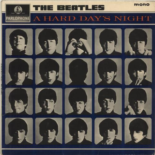 Beatles, The A Hard Day's Night - 2nd - VG