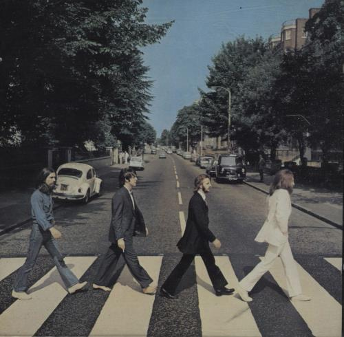 beatles, the abbey road - italy