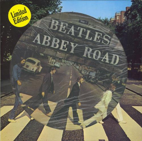 The Beatles Abbey Road Dutch Lp Picture Disc 5cp062 04243