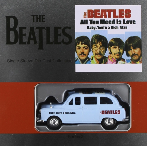 BEATLES, THE - All You Need Is Love - Single Sleeve Die Cast Collectible - Autres