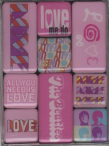 BEATLES, THE - All You Need Is Love Magnet Set - Autres