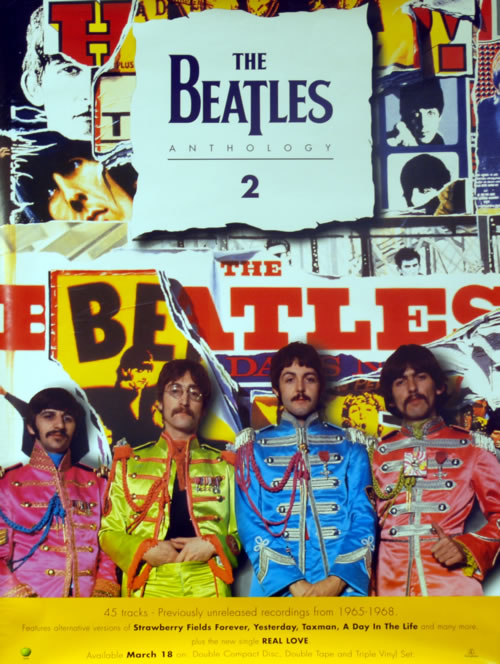 BEATLES, THE - Anthology 2 - Poster / Affiche