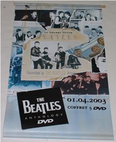 BEATLES, THE - Anthology DVD Banner - Poster / Affiche