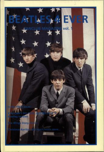 BEATLES, THE - Beatles 4 Ever - Fanclub Magazine Vol. 1 - Livre