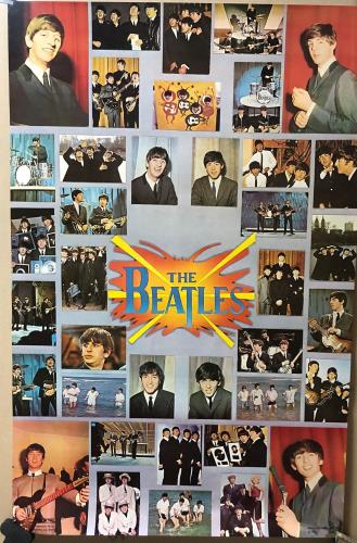 BEATLES, THE - Beatles Collage - Poster / Affiche
