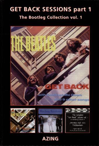 BEATLES, THE - Get Back Sessions Part 1 - Autographed - Livre