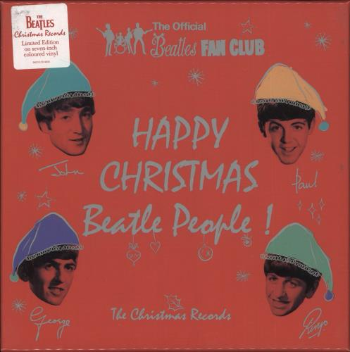 BEATLES, THE - Happy Christmas Beatle People! (The Christmas Records) - Others