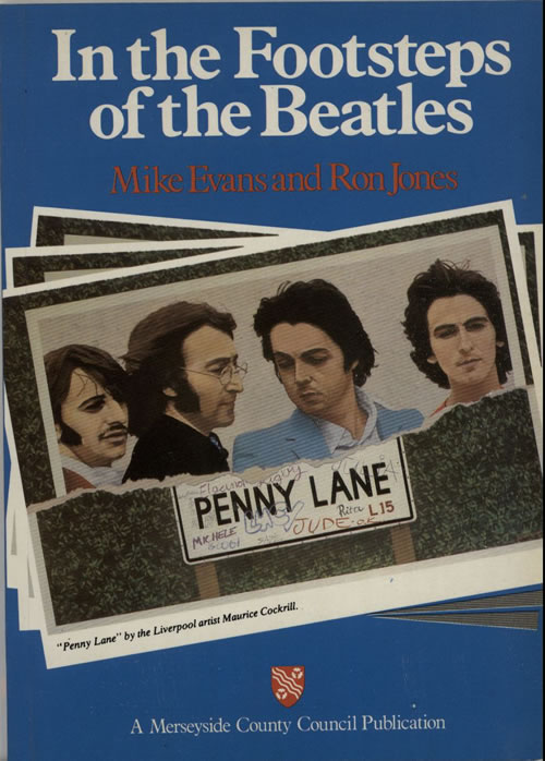 BEATLES, THE - In The Footsteps Of The Beatles - Livre