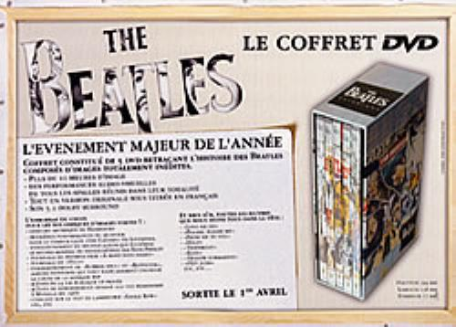 BEATLES, THE - Le Coffret DVD - Poster / Display