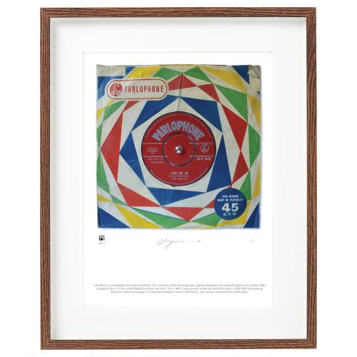 BEATLES, THE - Love Me Do - SuperSizeArt Numbered Print - Poster / Display