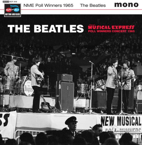 beatles, the nme poll winners concert 1965 - sealed