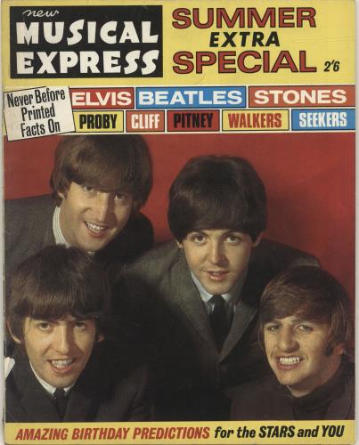 BEATLES, THE - New Musical Express Summer Extra Special - Autres