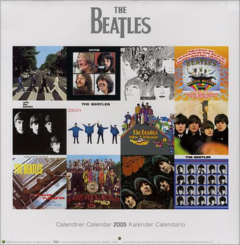 BEATLES, THE - Official Calendar 2005 - Calendrier
