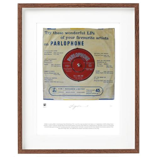 BEATLES, THE - P.S I Love Love You - SuperSizeArt Numbered Print - Poster / Display