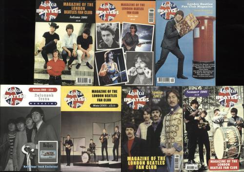 BEATLES, THE - Quantity of Seven 'London Beatles Fan Club' Magazines - Autres