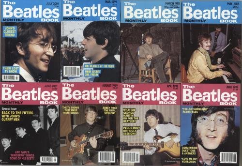BEATLES, THE - Quantity of Seventeen The Beatles Monthly Book - Autres