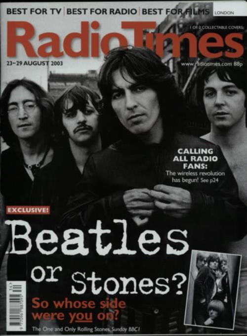 BEATLES, THE - Radio Times - 23-29 August 2009 - Two Issues - Autres