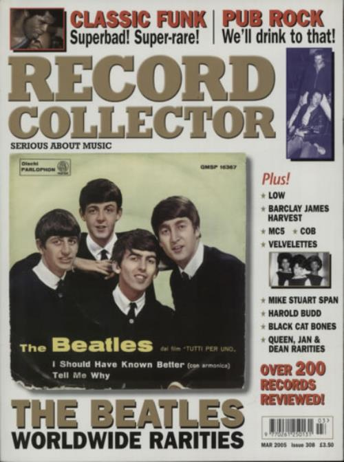 BEATLES, THE - Record Collector - Mar 2005 - Issue 308 - Others
