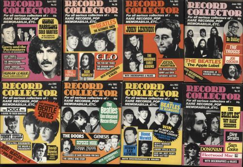 BEATLES, THE - Record Collector Magazine - Set Of 13 - Others