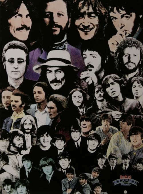 BEATLES, THE - Rock 'n' Roll Music - Poster / Affiche